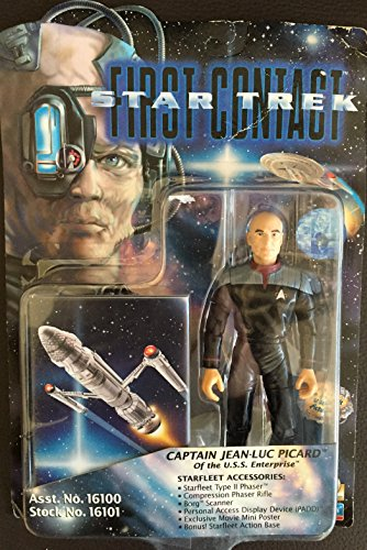 Star Trek Captain Jean-Luc Picard First Contact Action Figure - 1