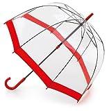 フルトン FULTON バードケージ かさ 傘 レッド 正規品証明タグ 英国王室御用達 クリア 透明 赤 Red Birdcage L041 AC