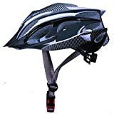 Bicycle Mountain Bike BMX Safety Helmet for Unisex adults size 52-56cm black and white mixed