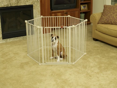 The Animazing Convertible Pet Yard - It'S A Pet Yard...It'S A Pet Gate! front-69541
