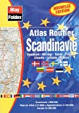 echange, troc Atlas Blay Foldex - Atlas routiers : Scandinavie (légende en 4 langues et avec un index))