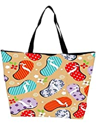 Snoogg Abstract Summer Background Waterproof Bag Made Of High Strength Nylon - B01I1KKLM2