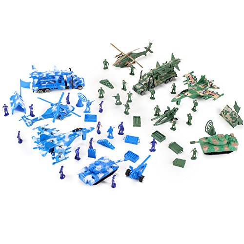 Action-Figures-Army-Men-Soldier-Military-Playset-with-Scaled-Vehicles-52-pcs