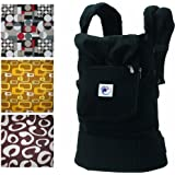 Ergo Baby Options Baby Carrier - Black with Bold option covers
