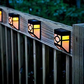 YMBED Retro Solar LED Wall Light Garden Lights Amazon