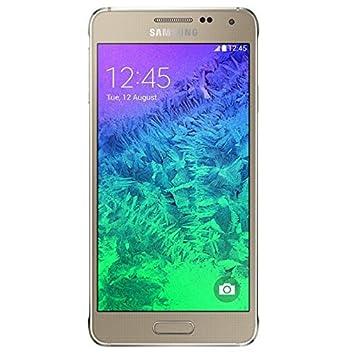 Samsung Galaxy Alpha Smartphone débloqué 4G (Ecran : 4.7 pouces - 32 Go - Android 4.4 KitKat) Or