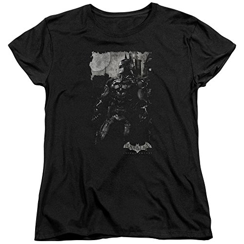batman-bat-larve-maglietta-da-donna-nero-nero