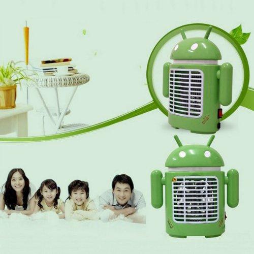 Fashion Cartoon Robot LED Mosquitos Killer Lamp