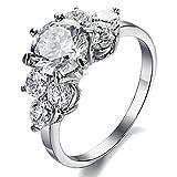[ 愛の約束 ] Joyful Shine レディース 婚約指輪 CZダイヤ リング