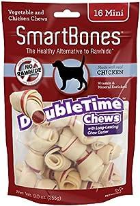 Smart Bones 16 Count Chicken Bones Dog Chew, Mini