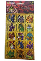 Yu-Gi-Oh Stickers Series #1 - 2 Sheets Sandylion Stickers