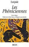 echange, troc Euripide - Les Phéniciennes : Edition bilingue français-grec