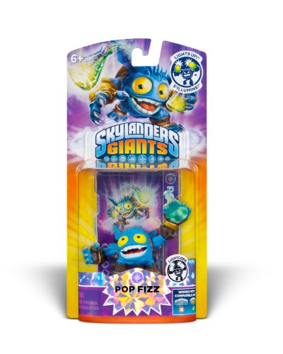Skylanders Giants: Lightcore Pop Fizz Character