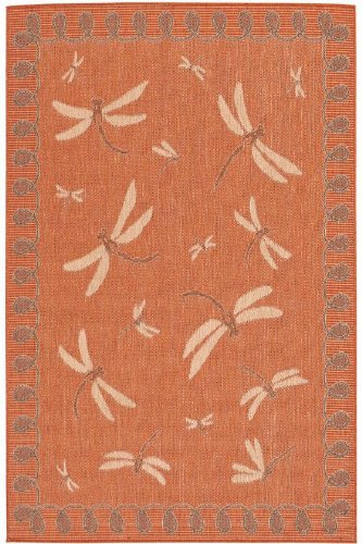 Dragonfly Outdoor Area Rug, 1'11