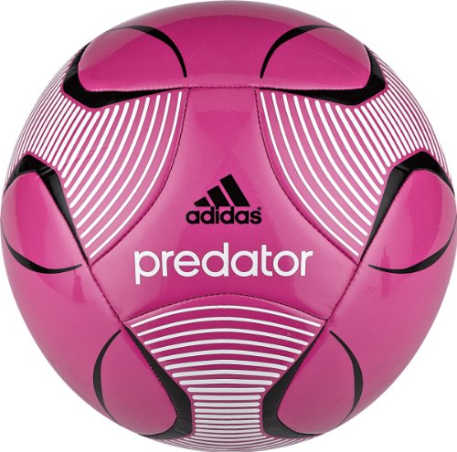 Adidas Predator Europa League Capitano Soccer Ball (Bloom Pink/White/Black, 5)