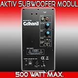 Gelhard GXV500 AKTIV SUBWOOFER MODUL – 500WATT MAX &#8...