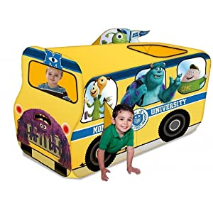 Playhut Monsters University School Bus Tent