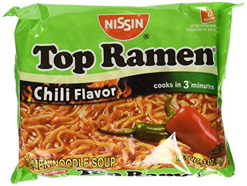 Nissin Chili Flavor Instant Soup, 3 oz, 24 ct (Ramen Noodle Chili compare prices)