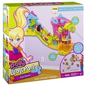 Polly Pocket Wall Tracks PartY Destination Pet Store