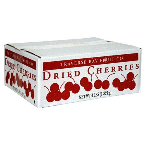 Traverse Bay Fruit Co. Dried Cherries, 4-Pound Box