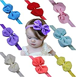 Baby Girl Headbands With Bows Perfect for Newborns/Toddlers with Knotted Bow Cute Fashion Headwrap Headwear