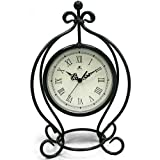 Infinity Instruments The Gateway - Pewter Gray Metal Table Clock