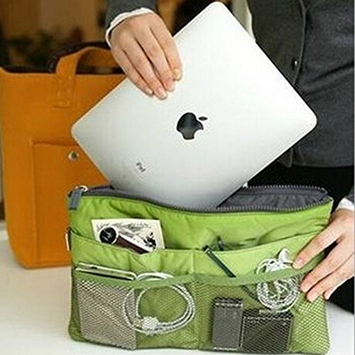 Fashion Unisex Men Women Multifunctional Phone Computer Laptop Bag Storage Bag Ladies Girl Make Up Cosmetic Bags/Handbags
