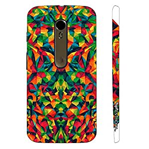Motorola Moto X Style Abstract est designer mobile hard shell case by Enthopia