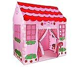 Pink Princess Castle Play Tent Indoor Outdoor