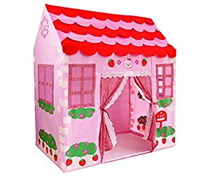 Pink Princess Castle Play Tent Indoor Outdoor