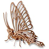 3-D Wooden Puzzle - Small Butterfly