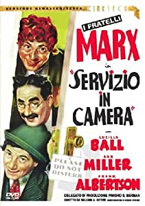 Amazon.com: Servizio In Camera: Lucille Ball, Groucho Marx, Chico Marx