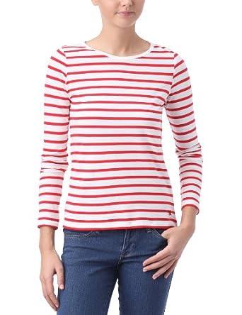 Dorotennis Essentiels - T-shirt - femme - Tomate / écru - S
