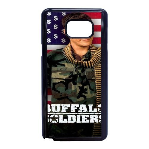 E1X14 Buffalo Soldiers High Resolution Poster P1W2NB cover Samsung Galaxy Note 5 Cell Phone Case Cover Black FQ6UYG1LR