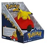 Teknofun-Pokemon-Lmpara-con-reloj-digital-y-radio-color-rojo-y-blanco