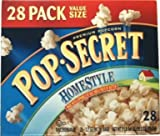 Pop Secret Homestyle Premium Popcorn 28-3.2oz Bags
