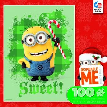 Despicable Me 2 100 Piece Puzzle-Holiday Sweet