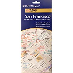 Rand McNally San Francisco/ Fisherman's Wharf/ Chinatown Fabric Map