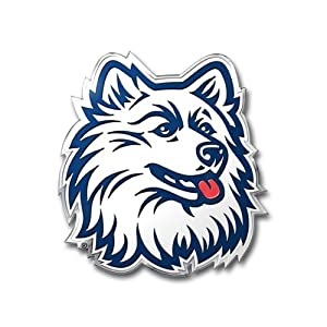 Buy NCAA Connecticut Huskies Die Cut Color Automobile Emblem by Team ProMark