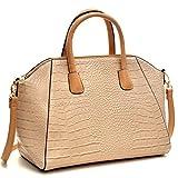 Dasein Faux Leather Weekender Laptop, Tablet, iPad Bag Satchel Briefcase Shoulder Handbag Purse