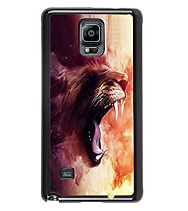 Fuson 2D Printed Designer back case cover for Samsung Galaxy Note 4 - D4359