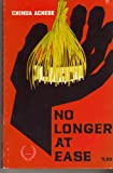 No Longer at Ease (0839250088) by Achebe, Chinua