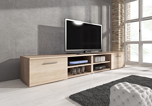 mobile-per-tv-supporto-tv-mobile-entertainment-vegas-rovere-sonoma-240-cm