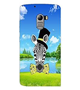 PrintDhaba Funny Image D-4288 Back Case Cover for LENOVO VIBE X3 LITE (Multi-Coloured)