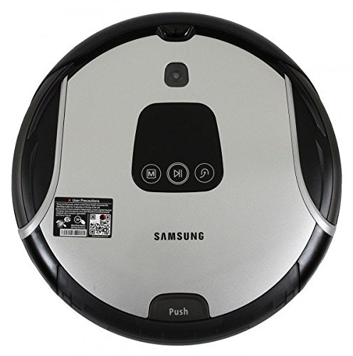 Samsung Sr8930 Light Navibot Robot Vacuum Cleaner Silver Slim Design Genuine