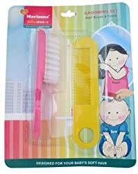 Baby Dreams Hair Brush and Comb (Pink)