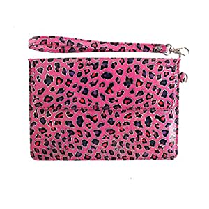 DooDa PU Leather Pouch Case Cover With Magnetic Closure & Video Viewing Stand For Samsung Galaxy Tab 2 (P3100)
