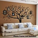 Giant Family Photo Tree Wall Decor Wall Sticker Vinyl Art Home Decals Room Decor Mural Branch Wall Decal Stickers Living Room Bed Baby Room