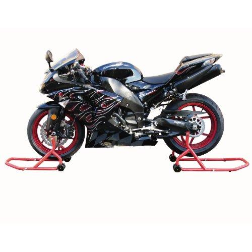 Biketek Front & Rear Motorcycle Paddock Stand Set (Series 3)