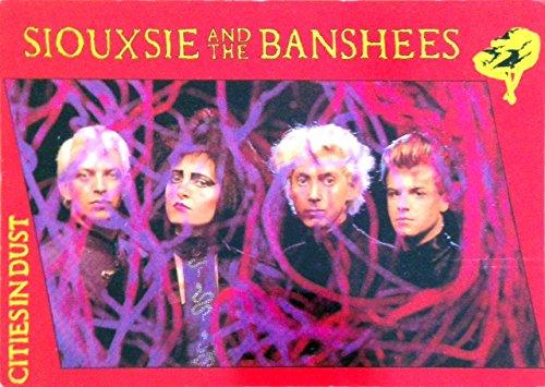 Siouxsie & The banshees, 10 x 15 cm, motivo: Cartolina